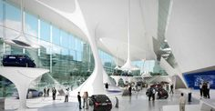 asymptote architecture | Hyundai Showroom page
