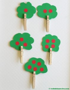 Tree Counting Activity with Clothespins Apple theme counting activity for preschoolers. A fine motor apple tree activity for learning numbers.Apple theme counting activity for preschoolers. A fine motor apple tree activity for learning numbers. Counting Activities For Preschoolers, Preschool Lessons, Autumn Activities, Preschool Learning, Preschool Number Activities, Apple Activities Kindergarten, Learning Numbers Preschool, Numbers Kindergarten, Montessori Preschool