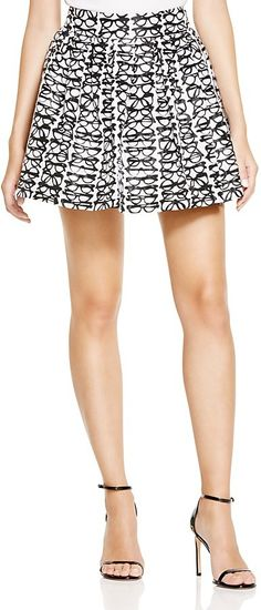 Eyedolatry Gifts For Glasses Lovers: Alice + Olivia Fizer Eyeglass Print Skirt