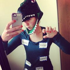 66 Funny Halloween Costumes That'll Have You ROFL via Brit + Co
