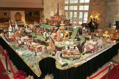 Gingerbread town... Challenge accepted