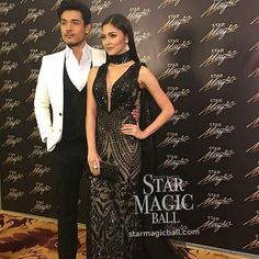 @Regrann_App from @starscoops -  One of the Best Dressed, @chinitaprincess with date @xianlimm #StarMagicBall2016 - #regrann