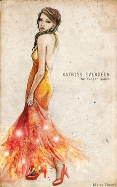 Katniss Everdeen by MartAiConan.deviantart.com on @deviantART