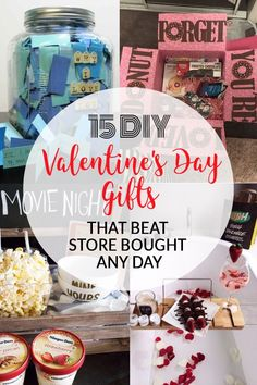 If you're feeling creative this Valentine's Day, then these DIY Valentine's Day gifts are the perfect present ideas for the boyfriend or girlfriend in your life! Homemade gifts are always better then store bought, so create one of these presents for Vday! Valentines Day Care Package, Valentines Day Gifts For Him, Valentines Diy, Top 5 Christmas Gifts, Holiday, Creative Gifts For Girlfriend, Homemade Gifts For Girlfriend, Valentine's Day Diy, Boyfriend Gifts
