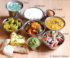 Roshni's Kitchen: Gujarati Thali