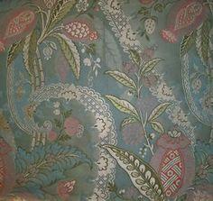 Scalamandre Lampas Beach Fabric, Brocade Fabric, 18th Century, Silk, Wallpaper, Ideas, Wallpapers, Thoughts, Silk Sarees