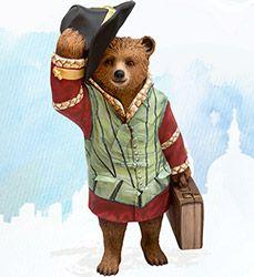 Paddington Trail Bears - Celebrity Designers & More - visitlondon.com-Shakesbear- Michael Sheen