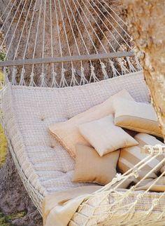 hammock with extra cushion