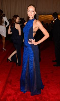 cobalt gown by Rag and Bone
