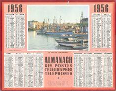 Almanach des Postes 1956