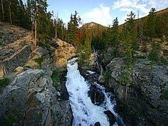 HIKING - Adams Falls (.6 m), East Inlet TH (east of Grand Lake), RMNP
