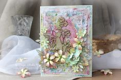 Scrap-Imaginarium: Ко Дню Рождения Bee Shabby: открытка с маленьким эльфом