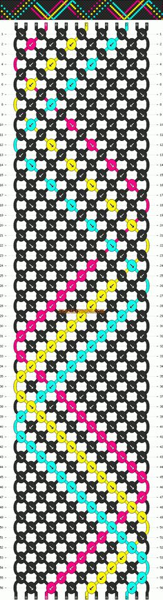 http://www.braceletbook.com/pattern_normal/10284.html .. http://www.braceletbook.com/pattern_normal/6297.html