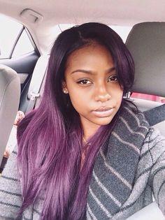 Justine Skye  |The Purple Hair Chronicles|