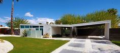 mid century modern home house