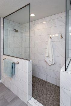 Home Remodeling Des Moines Iowa Bathroom Renos, Master Bathroom, Bathroom Ideas, Walk In Shower, Shower Tub, Tub To Shower Conversion, Contemporary Shower, Master Bath Remodel, Slate Flooring