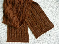 Ravelry: Lace and Sails Scarf pattern by Sue Fischer