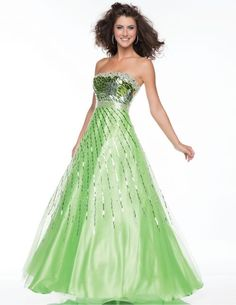 Check Out Our Awesome Product: Nina Canacci Hand Beaded Strapless Bodice Covered Style 3005>>>>>>