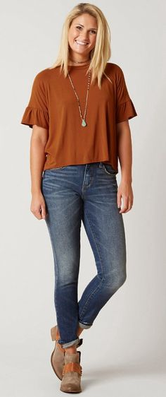 Outfits for Fall : Gimmicks Solid Top | Buckle