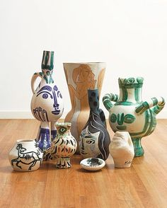 Via @sothebys The Picasso ceramic collection of Lord and Lady Attenborough #picasso #davidattenborough