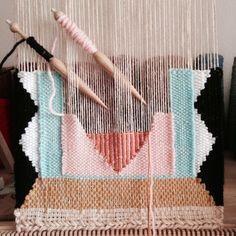 Weaving by Maryanne Moodie #weven #weaving #trend #diy #crafts #handmade