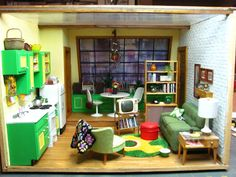 Dollhouse Miniature Furniture - Tutorials | 1 inch minis: Pictures of Room Boxes