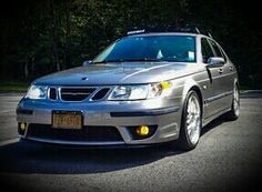 '00 Saab 9-5 Aero With Aftermarket Xenon Headlamps & HID Yellow Foglamps,Roof Rack,Rear Spoiler & Hirsch 20' Rims