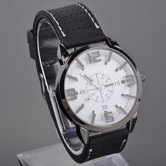 Mens Quartz Wrist Watch