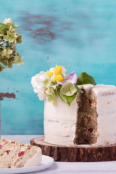 It's a party! Celebrate our first birthday with some yummy gluten-free coconut cake.