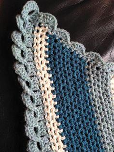 Gedraaide rand - Deel 1 -  voor sjaal / omslagdoek
