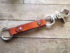 12 Gauge Leather Key Carrier / Key Chain – Wild Whiskers Leather