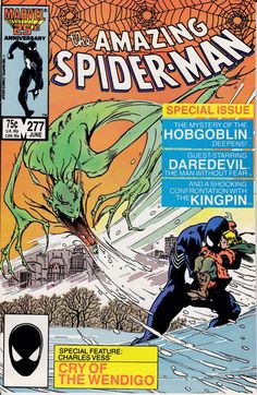 Amazing SpiderMan 1963 1st Series 277 June 1986 by ViewObscura, $3.00