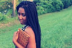 Poetic Justice braids, I might try these next Older Women Hairstyles, Cute Hairstyles, Braided Hairstyles, Protective Hairstyles, Poetic Justice Braids, African Braids Styles, Braid Styles, World Hair, Hair Icon