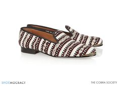 Cobra Society - Najet woven wool and leather loafers Zadig And Voltaire, Boots For Sale, Fashion Outlet, Leather Loafers, Shoe Sale, Hand Weaving, Espadrilles, Slip On, Pumps