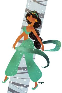 Jasmine, by Flesola.deviantart.com