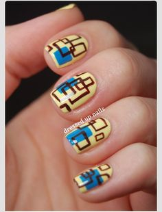 sharpie manicures | 10 Sharpie Manicure Ideas""