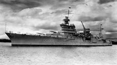 The Portland-class heavy cruiser USS Indianapolis (CA underway in Pearl Harbor in U. Navy Photo Wreck of Infamous USS Indianapolis Discovered in Pacific Ocean – gCaptain Uss Indianapolis Survivors, Hiroshima, Bomba Nuclear, Heavy Cruiser, Naval History, United States Navy, Navy Ships, Pearl Harbor, Tattoo