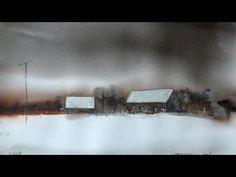 Watercolor paintings by Morten W. Gjul - love his art