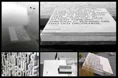 Wellington Writers Walk · typography by Catherine Griffiths
