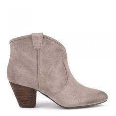 Ash Footwear Jalouse Taupe Suede Ankle Boot