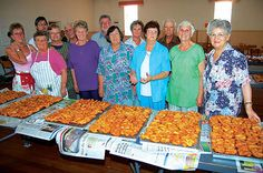 The ladies from the NG Kerk Oudtshoorn-Noord could teach Charles and Fortune a thing or two about Koeksisters