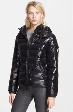 Moncler 'Bady' Down Jacket with Detachable Hood available at #Nordstrom