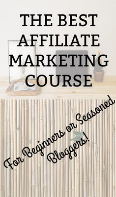 Interested in learning affiliate marketing?  Or maybe you are struggling with it currently.  This is the course that taught me how to make money online with affiliate marketing!   #affiliate