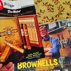 #greatmailday  Which to peruse first? #brownells #jrcigars  #gun parts or stogie?