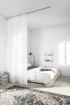 The Biggest Myth About Simple Bedroom Ideas For Small Rooms Apartments Layout Ex. - The Biggest Myth About Simple Bedroom Ideas For Small Rooms Apartments Layout Exposed – decorholi - Small Apartment Bedrooms, Small Room Bedroom, Small Apartments, Apartment Living, Master Bedroom, Bed Room, Bedroom Simple, Master Suite, Bedroom Neutral