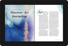 """Fixed-Layout eBook converted of """"Joyful Pages: Adventures in Art Journaling"""" by Judith Cassel-Mamet. Joyful, Art Journaling, Art For Sale, Web Design, Layout, Adventure, Books, Art Diary, Livros"""