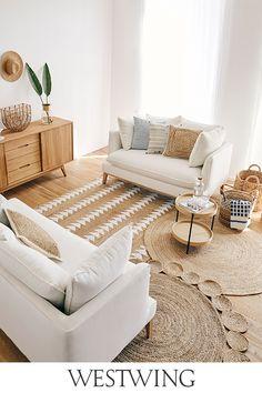 Calma House buy home accessories? Boho Living Room, Home And Living, Living Room Decor, Bedroom Decor, Pouf Design, Zara Home, Home Buying, Living Room Designs, Home Accessories