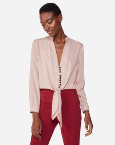 Moda Fashion, Moda Online, Blouses For Women, Ideias Fashion, Blazer, Long Sleeve, Sleeves, Jackets, Outfits