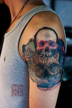 Surrealism Lives - artwork and tattoo by Wang - www.tattootemple.hk