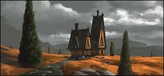 Lonely House by andreasrocha on DeviantArt